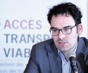 <b>Étienne Grandmont</b><br /> Directeur d'Accès transports viables