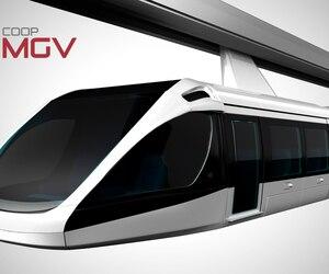 Ce projet de transport en commun s'inspirerait de la technologie du moteur-roue développée dans les années 1990 par l'ingénieur québécois Pierre Couture.