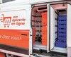 Pour ses livraisons, Metro possède des camions Tri-Zones divisés en trois sections, soit pour les articles réfrigérés, secs et surgelés.