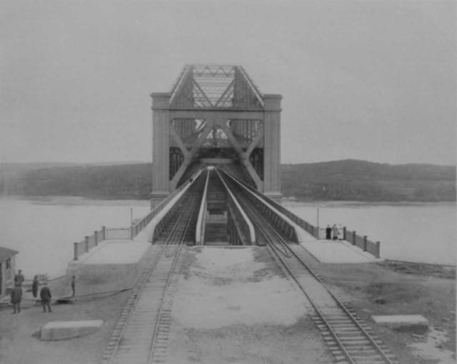 Le pont de Québec avant 1929