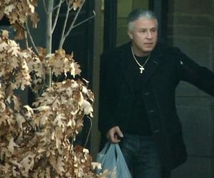 Lorenzo Giordano à son arrivée dans une maison de transition de la rue Sherbrooke est après plus de huit ans d'incarcération, le 9 décembre dernier.