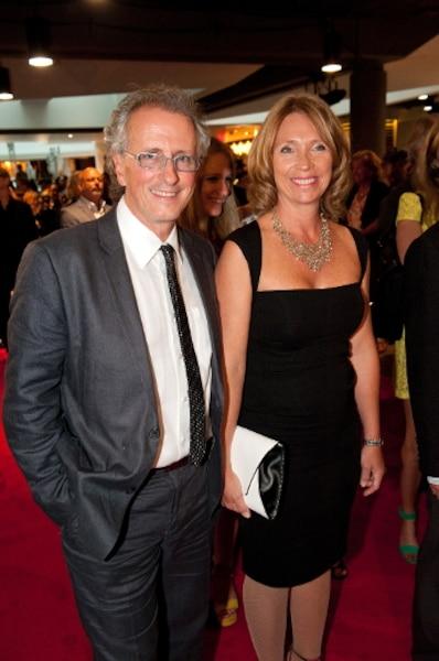 Michel Cusson et son épouse.