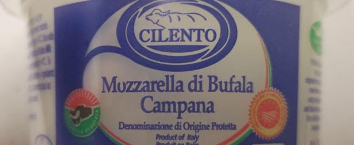 Rappel du produit Mozzarella di Bufala Campana