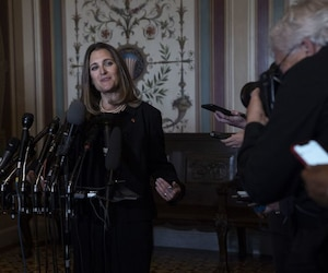 Senate Foreign Relations Committee meets with Canadian Foreign Minister Chrystia Freeland