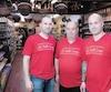 Steve Da Silva, José Dos Santos et Nelson Dos Santos, propriétaires de la boutique La Vieille Europe sur le boul. St-Laurent, à Montréal.