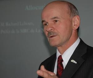 «Nous sommes déçus», a réagi Richard Lehoux, président de la FQM.
