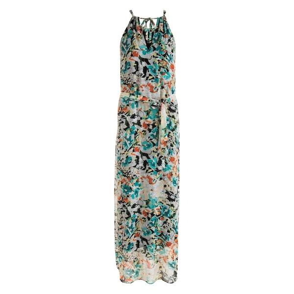 Neuf avec étiquettes Angie Smocks Imprimé Floral Soleil D/'été Maxi Beach Robe bleu bustier S//M//L
