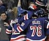 Les Rangers de New York trônent au sommet de la LNH avec une valeur de 1,55 milliard $ US.