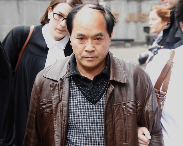 Le père de la victime de Jun Lin, Diran Lin