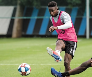 Zakaria Diallo a disputé 24rencontres avec l'Impact, totalisant trois buts et deux passes décisives.