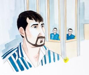 Mathieu Bougie a été reconnu coupable d'enlèvement, de séquestration, de voies de fait graves et de menaces de mort à l'endroit de son ex-conjointe, le 18 août 2017, au palais de justice de Saint-Jérôme.