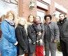 Stéphanie Turcotte, Julie Beaupré, Marie-Josée Laflamme, Catherine Raty, Nadège Stephen et David Toubiana travaillent à l'organisme La Traversée, à Saint-Lambert. Ils aimeraient avoir plus d'argent pour aider les victimes d'agression sexuelle.