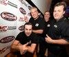 Steve Gaudreau, Marc Bégin, Martin Roy Jr et Normand Gilbert ont contribué à l'association avec NASCAR.