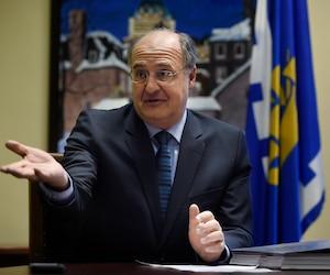 Paul Shoiry , chef de cabinet de l'opposition à l'hôtel de ville de Québec.