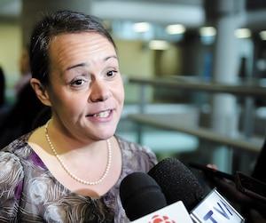 Véronique Lalande est l'instigatrice du recours collectif pour l'épisode de poussière rouge d'octobre 2012en basse-ville. Le procès s'est amorcé le 15 octobre dernier et s'achève avec les plaidoiries.