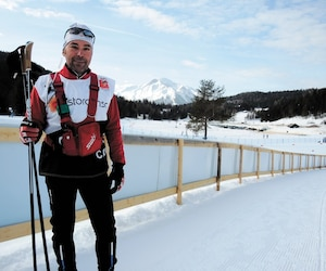 Yves Bilodeau retrouve la force dans son travail de technicien avec l'équipe canadienne de ski de fond depuis le suicide de son épouse en juillet 2018.