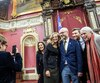 Les députés solidaires Ruba Ghazal, Christine Labrie, Sol Zanetti, Gabriel Nadeau-Dubois et Manon Massé