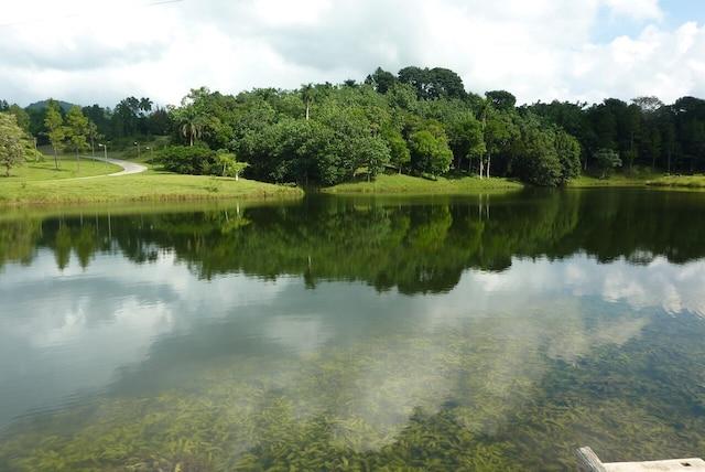 Un lac aux accents bucoliques.