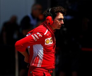 Mattia Binotto, directeur de l'écurie Ferrari