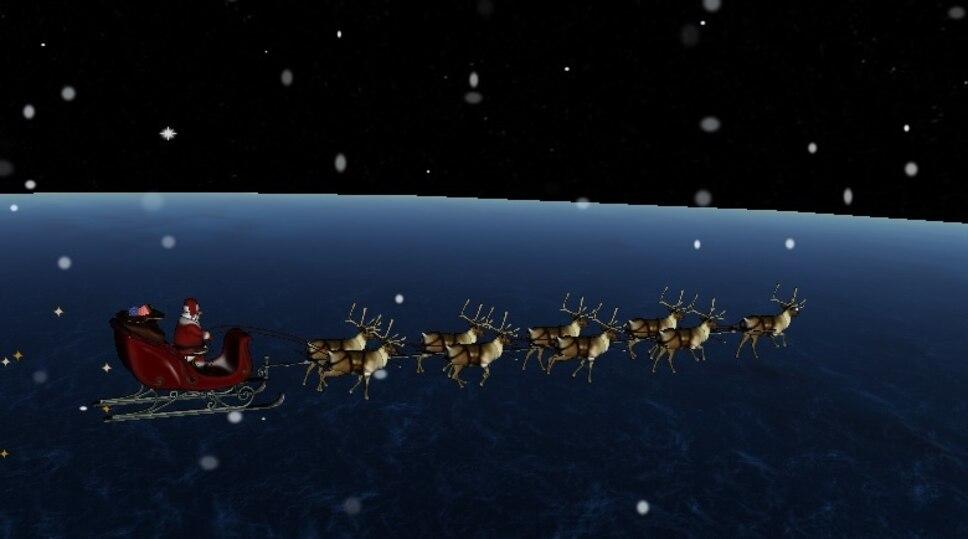 Où est rendu le père Noël?
