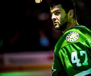 Alexander Radulov a disputé trois rencontres préparatoires chez les Stars avec lesquels il a récolté deux passes et lancé cinq fois au filet adverse.