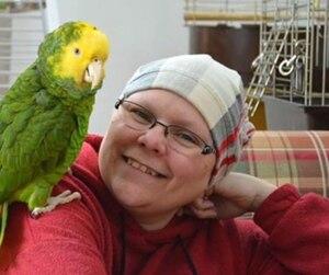 Ghyslaine Piette avait mis plusieurs photos d'elle sans cheveux sur la page Facebook «Sauvons la vie de Ghyslaine»