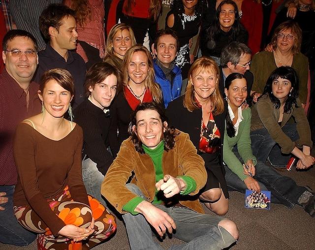 Une bonne partie de la distribution de Watatatow s'était réunie à l'occasion du dernier épisode de la série, diffusé le 21février 2005.
