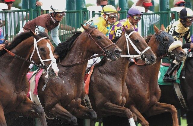 De juillet à septembre, la popularité des courses de chevaux fait doubler et même tripler la population de Saratoga Springs.