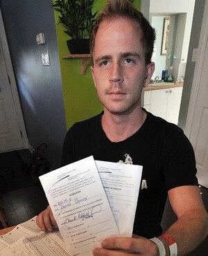 Daniel Cormier n'en revient pas qu'à l'hôpital Chauveau, on lui ait dit qu'il «allait bien», alors qu'il souffre de sclérose en plaques, maladie diagnostiquée au CHUL.