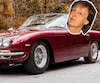 Paul McCartney dans sa Lamborghini 400 GT