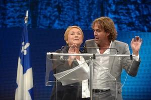 Pauline Marois et Yves Desgagnés
