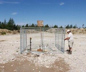 Un puits d'exploration pétrolière à Anticosti.