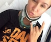 Brenda Pelletier-Bélanger a publié cette photo d'elle et ce message sur Facebook, quelques jours après la collision.