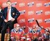 À la suite de l'élimination de son équipe en demi-finale de la KHL, Oleg Znarok perd non seulement son titre d'entraîneur-chef à Saint-Pétersbourg, mais également celui de l'équipe nationale russe.