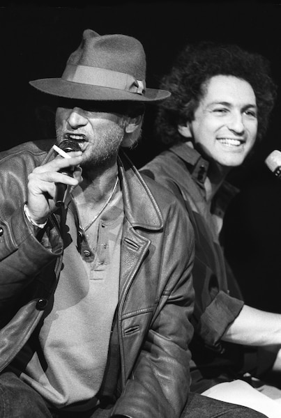 Johnny Hallyday et Michel Berger.