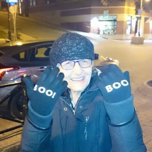 Francine Lafond, alias Madame Bou, a été retrouvée dans son appartement vendredi. La dame aimait surprendre les gens avec de gentils