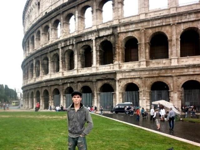 Luka Rocco Magnotta à Rome