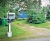 La résidence du chemin du Lac-Fiedmont, à Barraute, en Abitibi-Témiscamingue, où Michel Mingo a été tuétôt samedi matin.