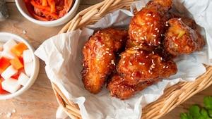 Ailes de poulet à la coréenne