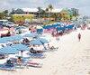 Fort Myers Beach, une plage longue de 11 kilomètres.