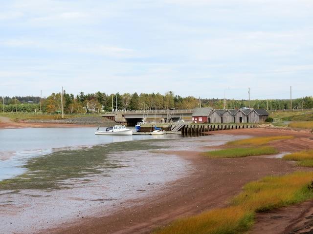 La Pinette River, à 45 minutes de Charlottetown.