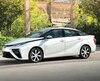 Le 18 janvier dernier, au Salon de l'auto de Montréal, le gouvernement Couillard a annoncé un partenariat avec le fabricant Toyota pour tester sa voiture à hydrogène Mirai (photo). Québec et Ottawa financeront aussi des bornes de recharge.
