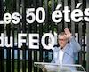 Le directeur général Daniel Gélinas a rappelé l'importance du FEQ dans la vie de bien des gens de Québec.