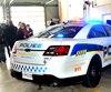 Véhicule de patrouille de la police de Saguenay