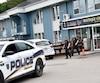 Une vingtaine d'enquêteurs de Revenu Québec ont investi les locaux de la chocolaterie Lulu sur le boulevard Saguenay Ouest, à Chicoutimi.
