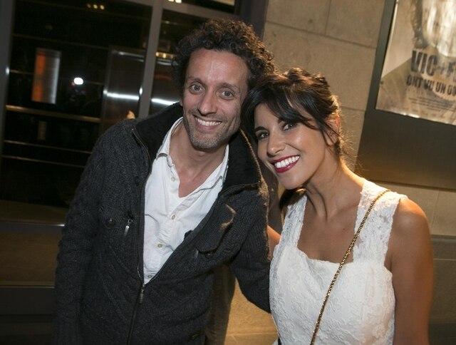 André Sauvé et Reem Kherici