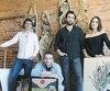 Les quatre jeunes fondateurs de la galerie : Alexis Fafard, Brad Laplante, Dimitri Roy et Sophie Poirier.