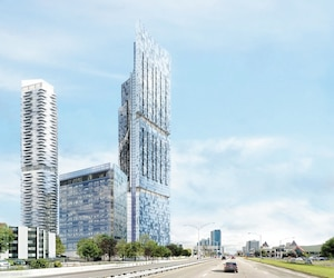 Le projet du Phare, du groupe Dallaire, devrait transformer le visage de l'entrée ouest de la ville de Québec.