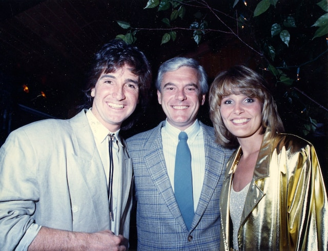 Rene Simard, Pierre Lalonde et Marie-Josee Taillefer