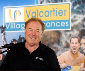 Le fondateur du Village Vacances Valcartier, Guy Drouin